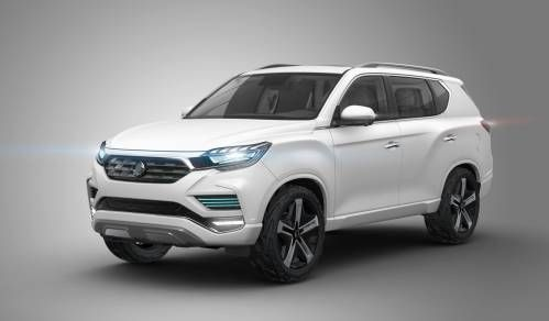 SsangYong LIV-2 Concept to Spawn 2017 Flagship SUV