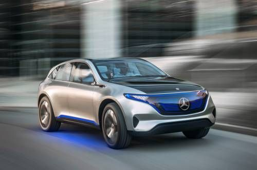 Mercedes-Benz Generation EQ Previews Electric SUV With 500 Km Driving Range