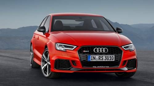 Paris 2016: Audi Alarms the Compact Segment With the 396 hp RS3 Sedan