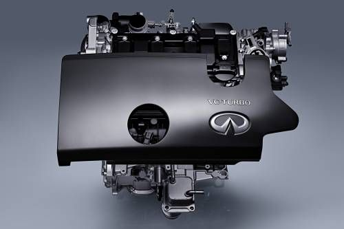 Infiniti Debuts World's First Production Variable Compression Engine in Paris
