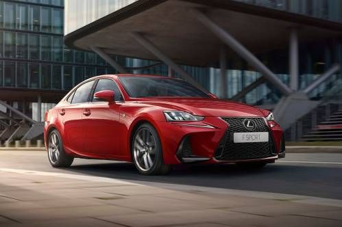 Subtly Facelifted 2017 Lexus IS Finally Arrives in Europe