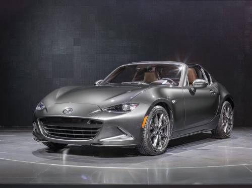 2017 Mazda MX-5 Miata RF Priced From $31,555