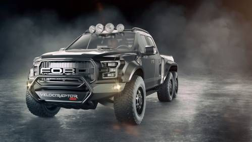 Hennessey's VelociRaptor 6x6 Truck Looks Tougher Than a Tardigrade