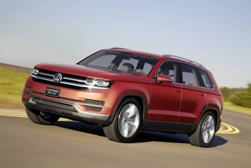 Volkswagen Gives Up on Teramont Nameplate, Will Call Its Upcoming SUV Atlas