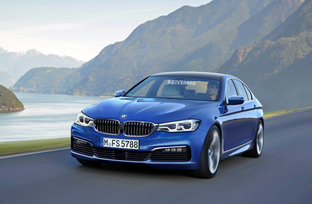 2017 BMW 5 Series G30 Sedan Exterior and Interior Teased, Images Sugg
