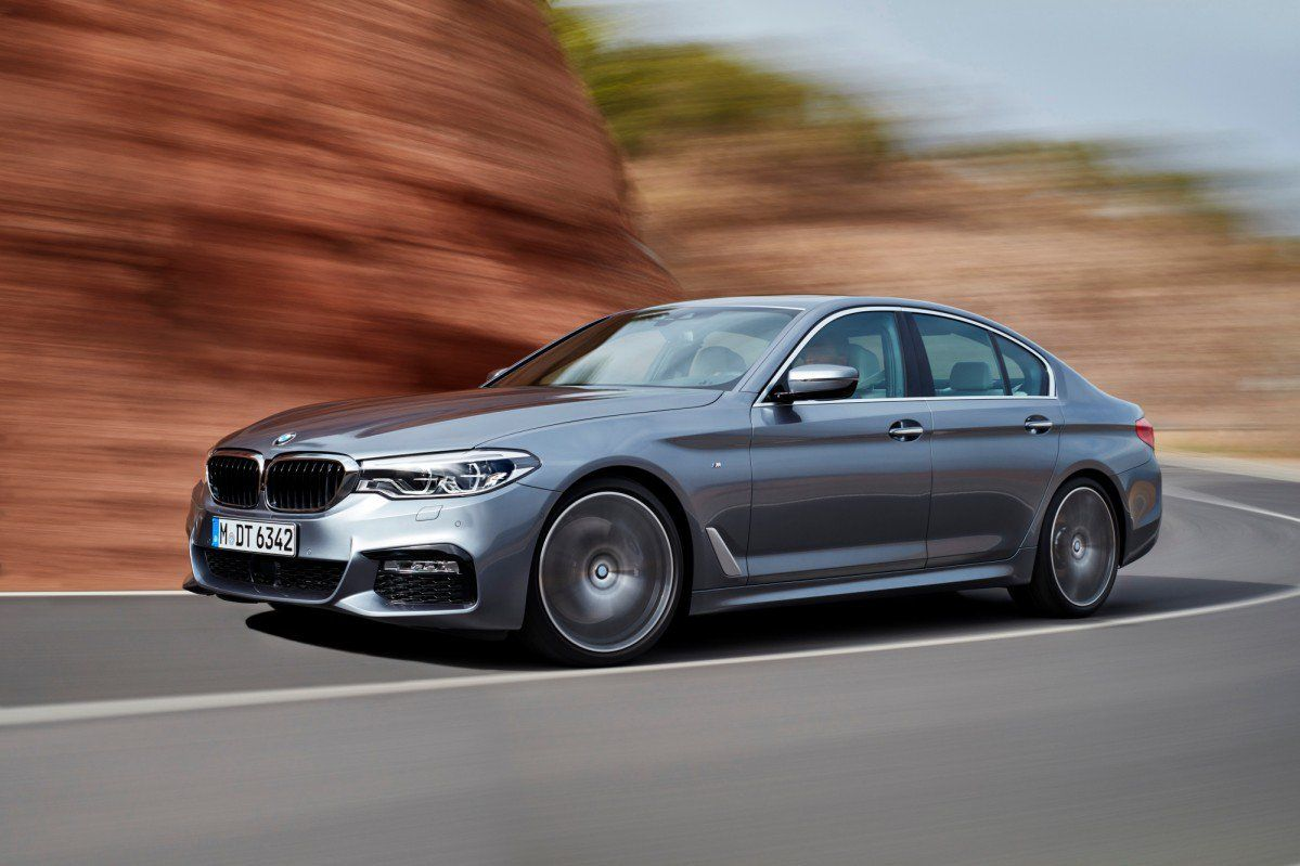 2017 Bmw 5 Series G30 Debuts With Active Grille And A Plethora Of Tec