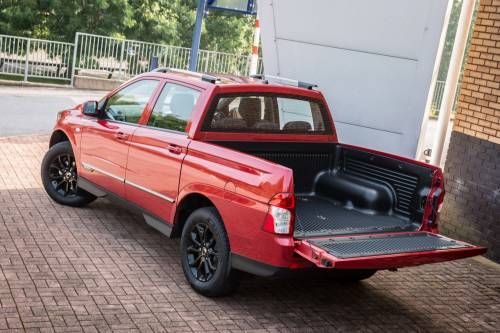 SsangYong Updates, Prices 2016 Musso Pickup in the UK