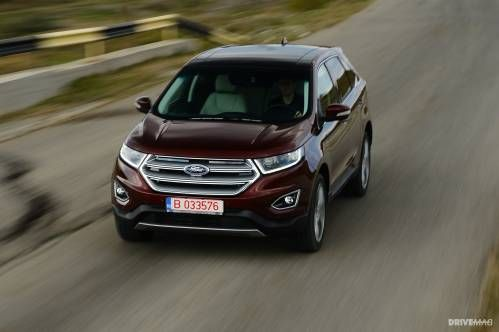 2016 Ford Edge 2.0 TDCi Bi-Turbo Test Drive: An American Tries to Make It in Europe