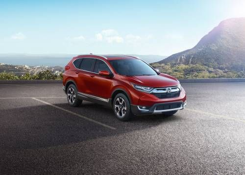 2017 Honda CR-V SUV Breaks Cover with Turbo Power and Up-to-Date Tech