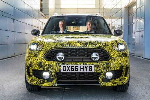 Mini Goes Hybrid, Shows a Quick Preview of the 2017 Countryman E PHEV