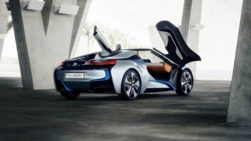 BMW i8 Roadster Will Make Its Way to the Production Line