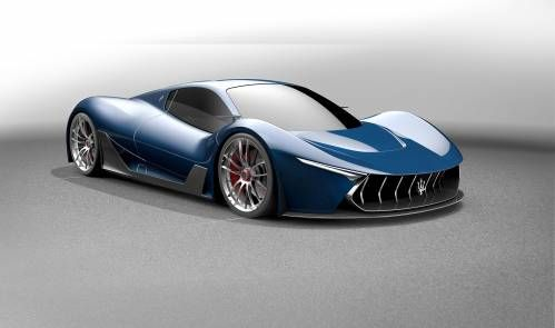 Maserati MC-63 Is a Stunning Design Proposal for a LaFerrari Sibling