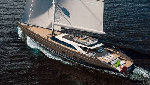 Perini Navi Showcases A New 47m Sloop
