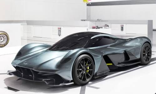 Aston Martin and Red Bull's 001 Hypercar Will Hit 200 MPH in 10 Seconds
