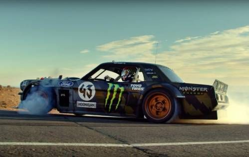 "Ken Block and His Hoonicorn Drift Their Way Up to the Pikes Peak in ""Climbkhana"" Teaser"