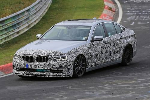 2017 Alpina B5 Sedan and Touring Spied Testing in Camouflage Attire