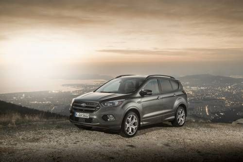 Ford Unveils Facelifted Kuga for Europe, Adds Vignale Variant