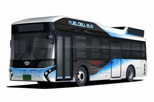 Toyota Will Introduce Fleet of Fuel Cell Buses for Tokyo 2020 Olympics