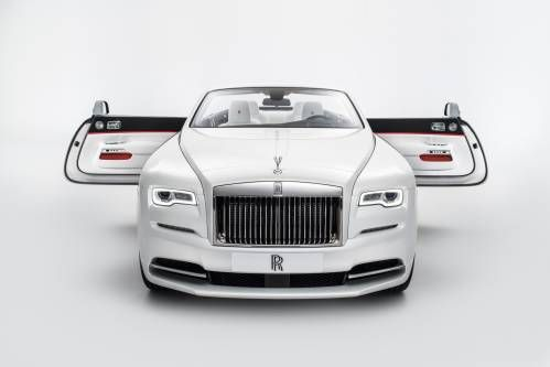 Rolls-Royce Dawn Visits the Tailor, Comes Out as Fashion Icon