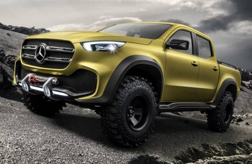 Mercedes-Benz Concept X-Class Previews Production Pickup That Will Launch in Late 2017