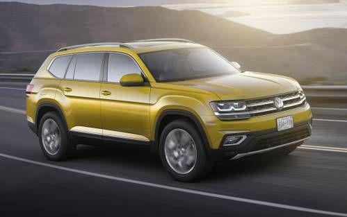 2018 Volkswagen Atlas Calls Itself Family SUV, Has Room For Seven, VR6 Power