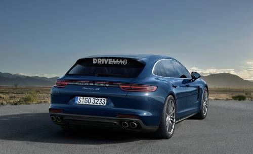 Porsche Panamera Sport Turismo Gets in Shape on the Nürburgring for 2017 Reveal