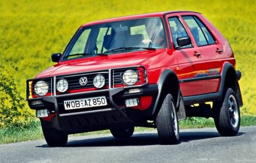 That Time When Volkswagen Built a Golf Mk2-Based SUV Called Country