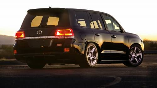 Toyota Goes Crazy With 2,000 HP Land Speed Cruiser