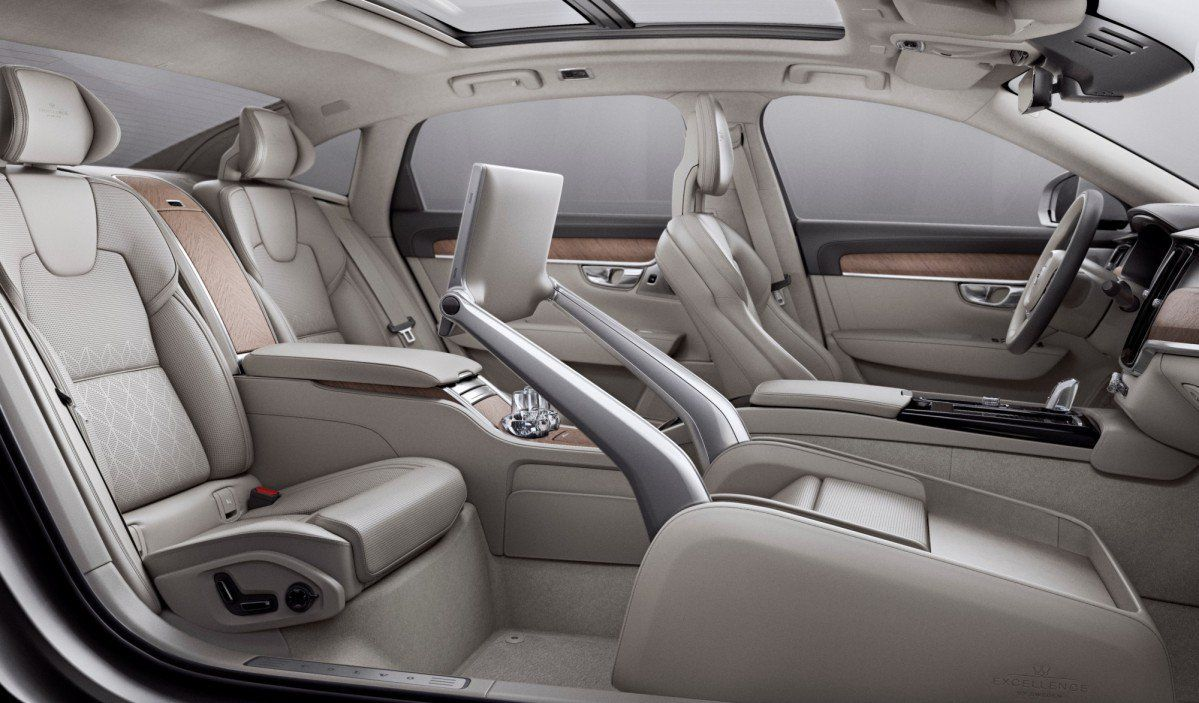 Volvo S90 Excellence Flagship Debuts In China Without A Front Passeng
