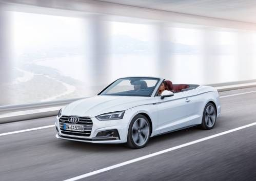 All-New 2017 Audi A5 and S5 Cabriolet Are Just What You Expected