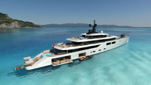 Oceanco Unveils Project Spectrum Superyacht