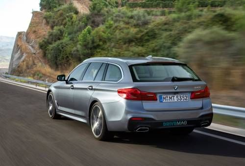 BMW 5 Series Wagon Rendering Should Tickle Your Family Fancy