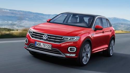 VW MQB-Based Crossover to Debut in Geneva Under T-Roc Nameplate