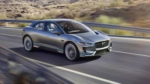 Jaguar I-Pace Electric Concept Buzzes 400 HP and 220-Mile Max Range