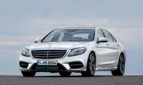 2017 Mercedes-Benz S-Class Facelift Pops Up in Accurate Rendering