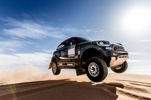 Mini Rallies the Troops With Kevlar-Strapped JCW Dakar Rally Racer