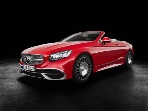 Limited Edition Mercedes-Maybach S 650 Cabriolet Shines Bright in Los Angeles