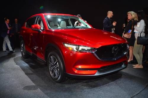 Mazda's First U.S. Diesel Will Arrive Next Year in the 2017 CX-5 SUV