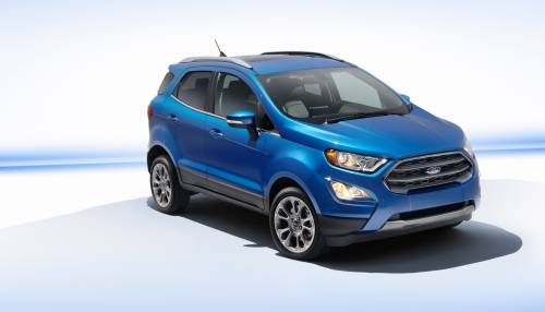 Ford Shows US-Bound, Revamped EcoSport Subcompact Crossover