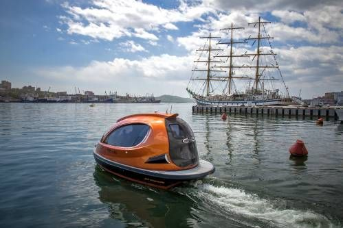 Behold the Jet Capsule, the Ultimate Water Toy