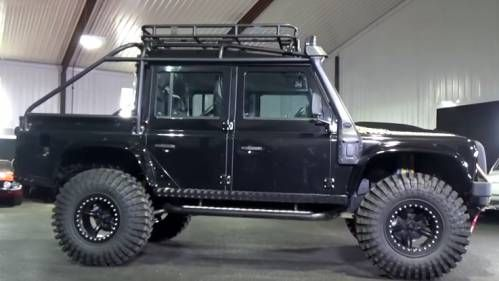 Take a Detailed Look at the Modified Land Rover Defender from James Bond Spectre