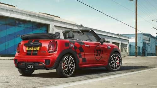 Mini Turns On the John Cooper Works Racing Swagger