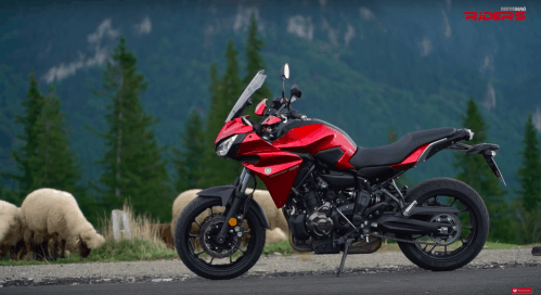 2016 Yamaha Tracer 700 VIDEO Test Ride