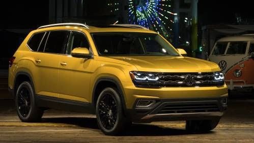 VW Atlas Seven-Seater SUV Could Reach Europe After All