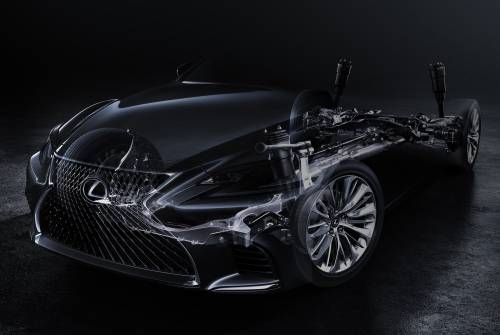 Lexus Teases All-New 2018 LS Flagship Luxury Sedan