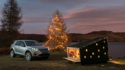 Land Rover Built a Cabin for Two Adults That Fits into the Discovery Sport
