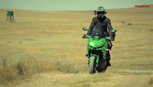 Kawasaki Versys 1000 VIDEO Test-Ride