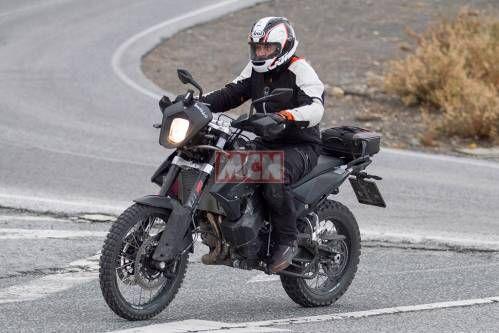 KTM 790 Adventure Spy Shots. The Next Adventure Middleweight