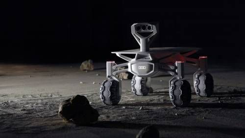 Audi Posts Inspirational Video About its 2017 Moon Rover Project