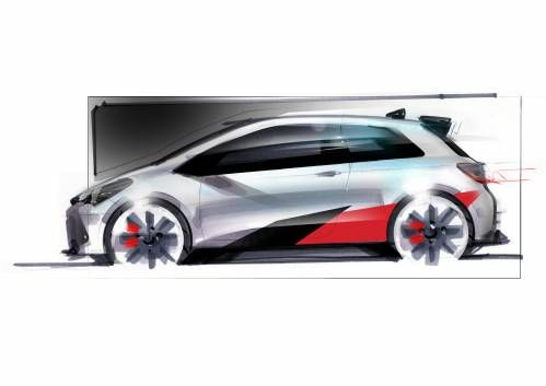 Toyota Teases Performance Yaris, Will Use WRC 'Learnings'